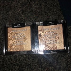 wet and wild highlighters NWT
